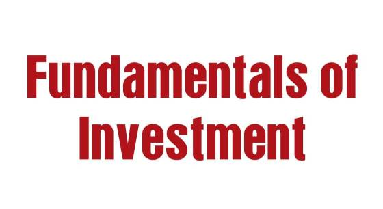 Fundamentals of Investment and Financial Planning