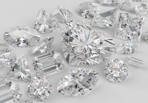 Where do diamonds come from in the world?